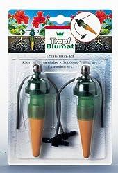 Pflanzen mit Tropfen von Wasser versorgt Verwendet eine dünne Schläuche Schaltet, wenn der Boden ausreichend feucht ist Vollautomatische Einfach hinzufügen auf und verwenden