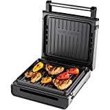 George Foreman 28000 Smokeless Electric Grill, 1500 W, Stainless Steel