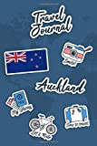 Travel Journal Auckland: Travel Diary | 106 pages, 6x9 inches | To accompany you during your stay