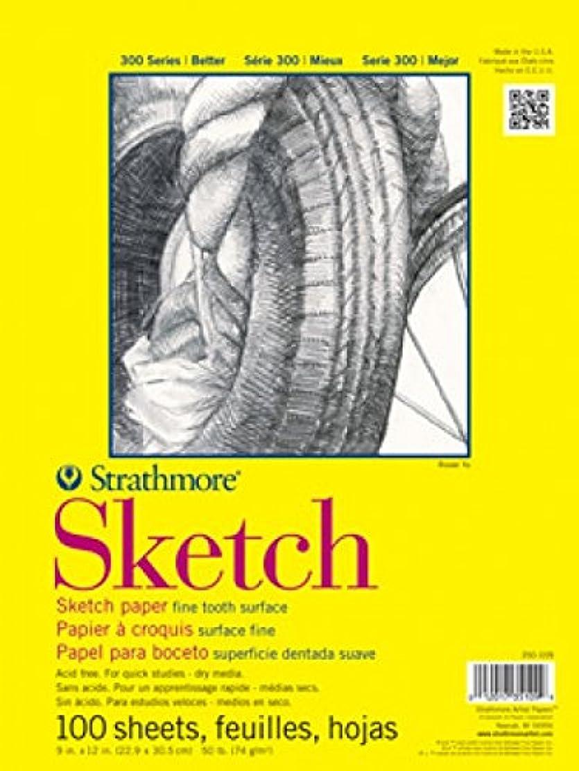 Strathmore ((350-109 STR-350-109 100 Sheet Sketch Plus, 9 by 12