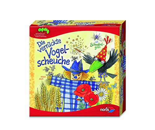 noris 606011294 - Die verrückte Vogelscheuche, Legespiel