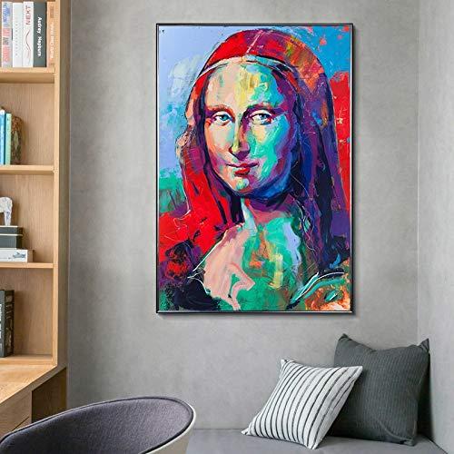 Puzzle 1000 piezas Pintura colorida del arte del retrato de la celebridad pintura famosa pintura decorativa puzzle 1000 piezas clementoni Rompecabezas de juguete de descompres50x75cm(20x30inch)