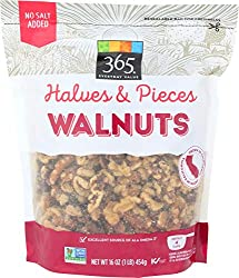 365 Everyday Value, Walnuts, Halves & Pieces, 16 oz