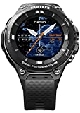 Casio WSD f20bk Bluetooth Black Sport Watch – Orologio Sportivo (Black, Water Resistant, 50 m, Arrampicata, Cycling, Fishing, Running, 12h/24h, 4000 MB)