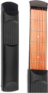 المحمولة الجيب الغيتار 6 Fret نموذج الخشب الممارسة 6 خيوط الغيتار أداة أداة التدريب للمبتدئين يانجين
