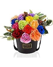 ソープフラワー ギフト ボックス 薔薇 バラ 花 誕生日 プレゼント 女性 女友達 母 お祝い 記念日 結婚祝い 入学 卒業 母の日
