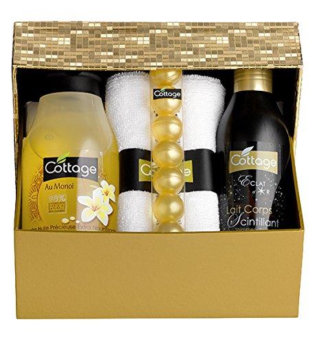Cottage Coffret Cadeau Beauté Monoï