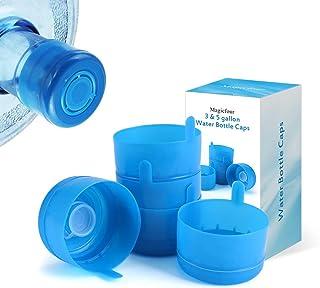 Magicfour Water Bottle Caps, Water Jug Caps, 55mm 3 & 5 Gallon Water Bottle Caps Water Jug Caps Non-Spill Replacement Caps...