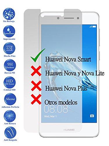 Todotumovil Protector de Pantalla Huawei Nova Smart 4G 5.0 de Cristal Templado Vidrio 9H para movil