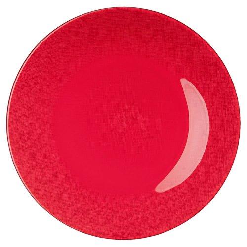 Hutschenreuther 02554-729540-45028 Candyland Glas-Teller 28 cm, rot