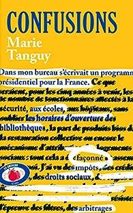 Confusions par Marie Tanguy