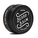 Charlemagne Premium Beard Balm - Verbesserte Rezeptur - 100% natürliches Bart Balsam - Bart-Wachs Made in UK - Bart-Creme und