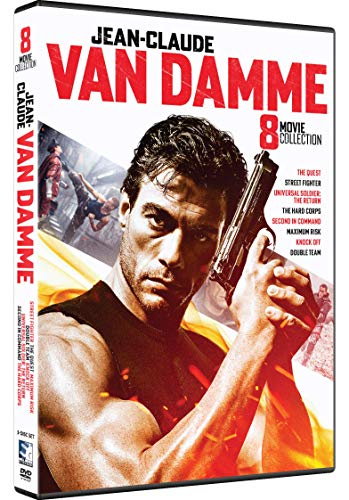 Jean-Claude Van Damme Collection 8 Movie Collection [DVD]
