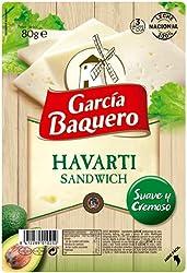 García Baquero Lonchas de queso Havarti , 1 x 80 g