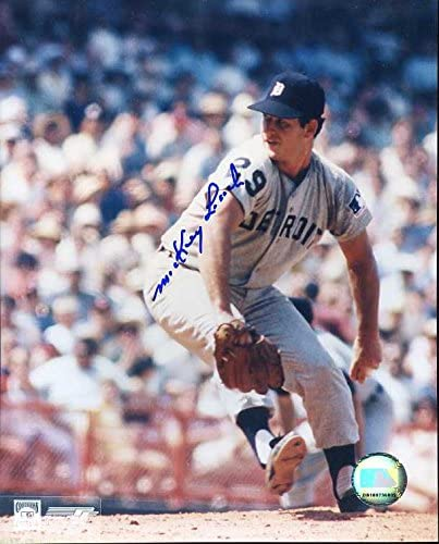 Mickey Lolich 1968 Tigers Autographed 8x10 Original Signed Direct stock discount Col Financial sales sale