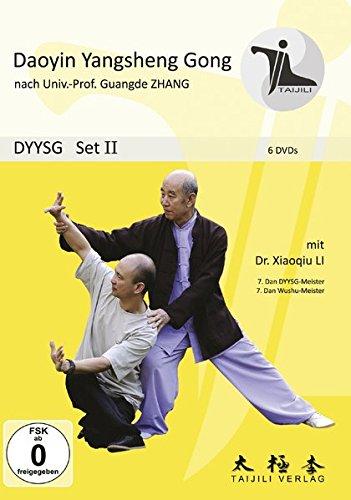 DAOYIN YANGSHENG GONG SET II (6 DVDs): Qigong DVD-SET II