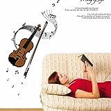 Ambiance-Live Wandtattoo Geige