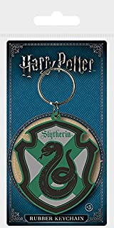 Keychain Harry Potter - Llavero de Goma Slytherin, Keychain Harry Potter - Llavero de Goma Slytherin