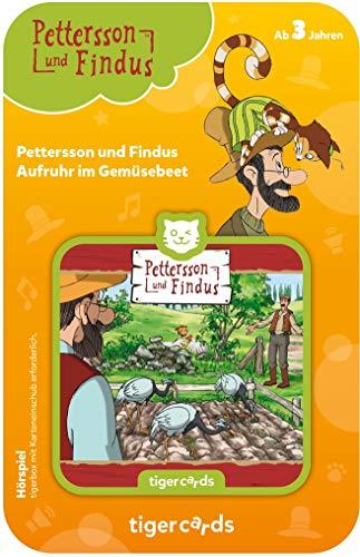 tigermedia 4188 tigercard-Pettersson & Findus-Folge 3: Aufruhr im Gemüsebeet