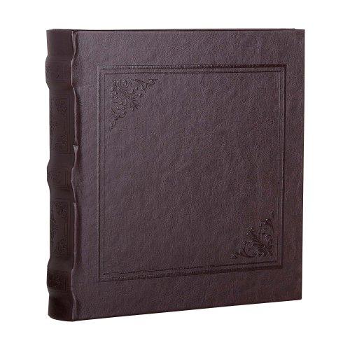 HOFMANN Cuero Foto Álbum, para Foto tamaño 15,2x 11,4cm, Color marrón