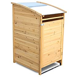 Cache poubelle dissimulez vos poubelles de jardin for Casetas de madera baratas para jardin brico depot