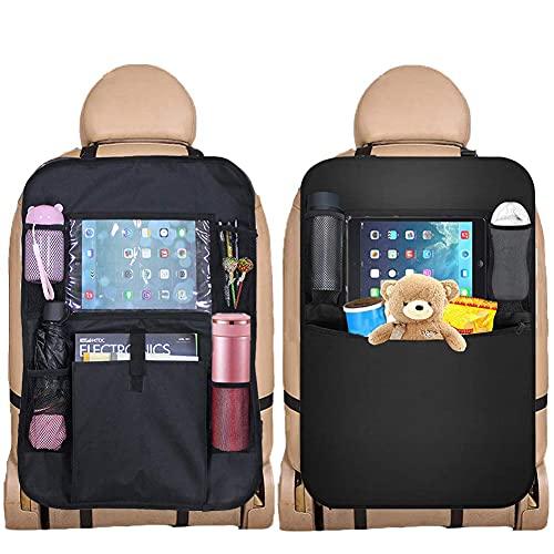 """Hey~Yo Rücksitz Auto Organisator, Sitz Rückenprotektor,Kind-Spielraum-Zusätze,Unterstützung für 9.07"""" Tablette-Touch Screen,Multi-Tasche wasserdichte Tritt-Mats"""