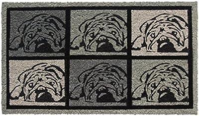 Shoe-Max Everclean YH 101968 Bulldog Art Fussmatt, 44 x 74 cm - 2.1 kg