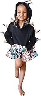 LONGDAY💯 Hoodies with Kangaroo Muff Pockets Skirt 2PC SetUnisex Baby Autumn Winter Shark Hooded Sweatshirt Girls