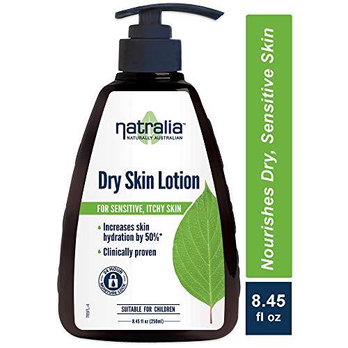Natralia Lotion corporelle pour peau sèche - Augmente le niveau d'hydratation de la peau de 50% - 235 ml