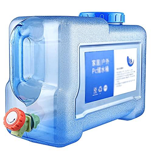 Tanque de Agua Portátil para Acampar, Senderismo, Cubo de Agua, Sin BPA, Material para PC de Grado Alimenticio, Cubo de Viaje al Aire Libre, Utilizado para Agua Potable al Aire Libre o en el Hogar