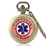 New Fashion Emt Emergency Medical Technician Quartz Orologio Da Tasca