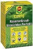 Compo Rasen - Diserbante perfetto per eliminare le erbacce, concentrato, 3 x 200...