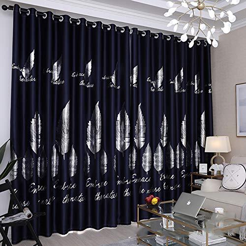Gordijnen MYKK Polyester/katoen Gordijnen Europa Stijl Luxe Gordijngordijnen voor Living 1 PC 100cmW 250cmH curtain5