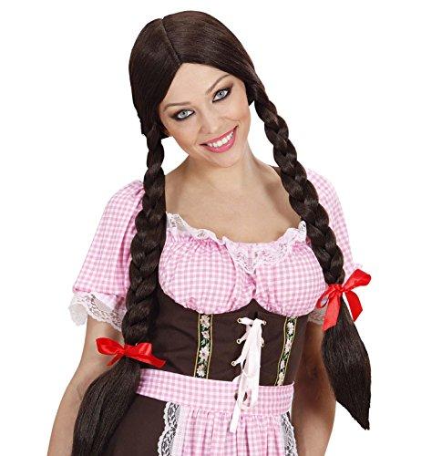 Widmann - Perücke Gretel mit Zöpfen