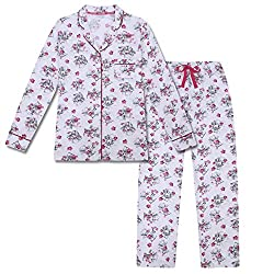 Official Tatty Teddy ladies pyjamas Long pyjamas with all over character print; elasticated waist; drawstring effect Cropped pant pyjamas with large character print; elasticated waist; drawstring effect Superb quality gift item