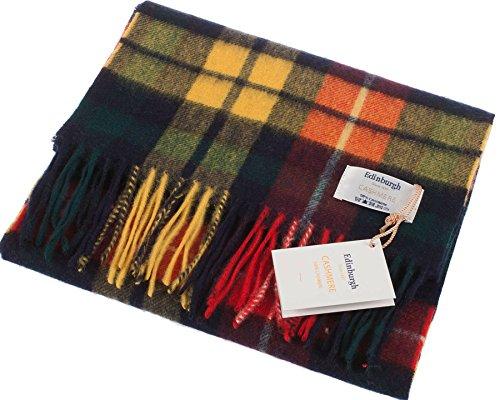 I Luv LTD Unisex Cashmere Scarf In Buchanan Tartan Design