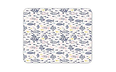 Cool Coral Reef Fish Mouse Mat Pad - Sea Fishing Beach Surf Gift Computer #8808 from Destination Vinyl Ltd