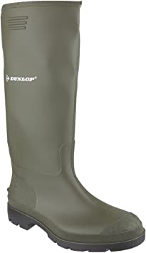 Non-Safety Wellington Boots Green Size