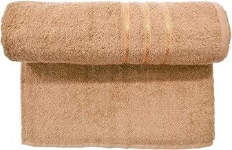 Bombay Dyeing Flora Size 400 GSM Cotton Bath Towel (Coconut)