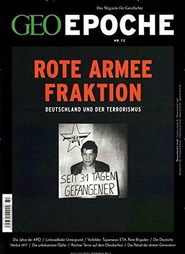 GEO Epoche (mit DVD) / GEO Epoche mit DVD 72/2015 - Rote Armee Fraktion: DVD: Black Box BRD