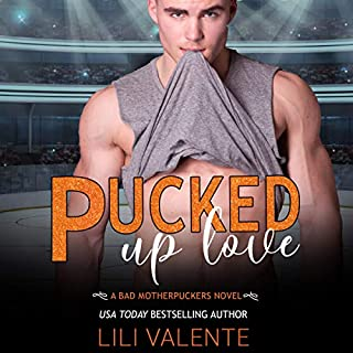Pucked up Love audiobook cover art