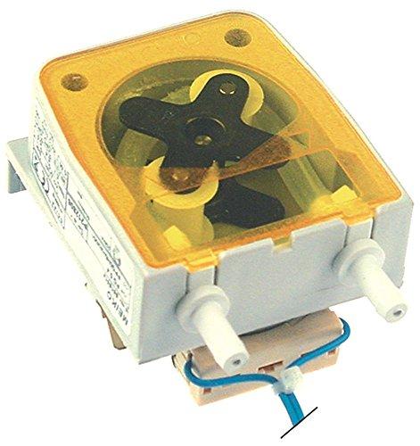 Seko dosificadora dispositivo pg0.4para transparente 0,4l/h apta para lavavajillas Meiko para lavavajilla 230V sin regulación con manguera Bomba