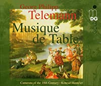 Telemann: Musique de Table /Camerata of the 18th Century ・ Hunteler (1996-09-24)