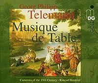 Telemann: Musique De Table 1-4