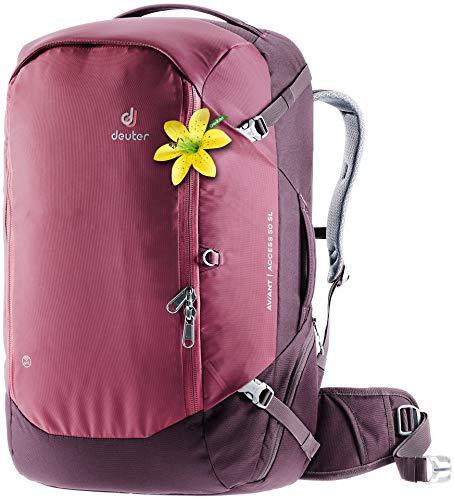 Deuter Women's Aviant Access 50 Sl Travel Backpack, Maroon-Eggplant,...