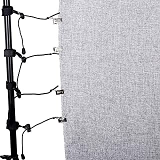 KINGCOM-Photo Studio Accessories - CY 8Pcs lot Photography Studio clip clamp Background Support Muslin Holders Clips for S...