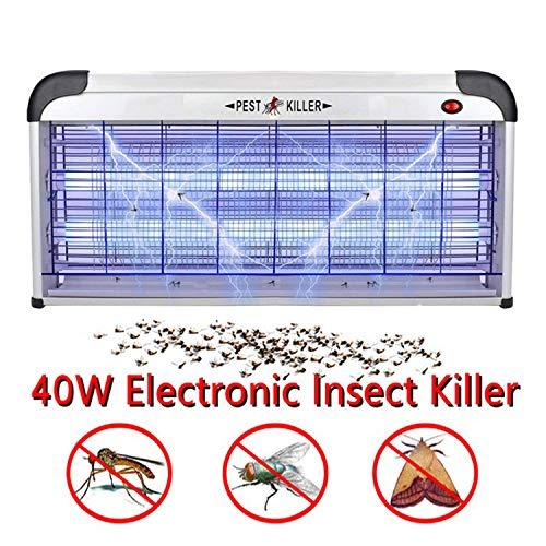 40W Elektrische Muggen Killer Lamp/De Meest Robuuste 2800 Volt Indoor UV Lamp Fly Insecticide Vliegenvanger Val Val Muggen Killer Lamp