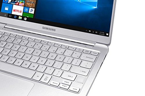 "Samsung Notebook 9 Ultra-Slim Laptop, 13.3"" Full HD, Intel i7-7500U, 16GB RAM, Windows 10 Home, Fingerprint Sensor, 1.8lbs, Light Titan - NP900X3N-K04US"