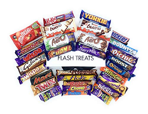 The Ultimate Chocolate Hamper Box - 30 Different Full Size Bars - The Perfect Treat for Any Occasion