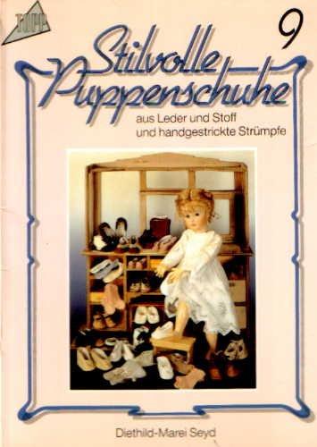 Stilvolle Puppenschuhe aus Leder und Stoff und handgestrickte Strümpfe - Teil 9